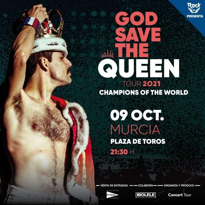 god save the queen en Murcia